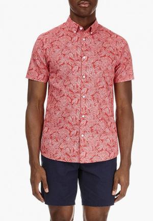 Рубашка Burton Menswear London. Цвет: красный