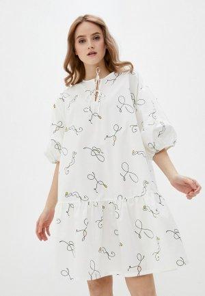 Платье Levis® Levi's®. Цвет: белый