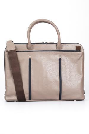 Briefcase bag GIORGIO FEDON. Цвет: beige