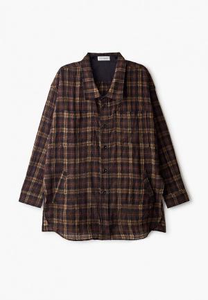 Рубашка Faith Connexion. Цвет: коричневый