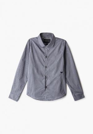 Рубашка Emporio Armani. Цвет: синий