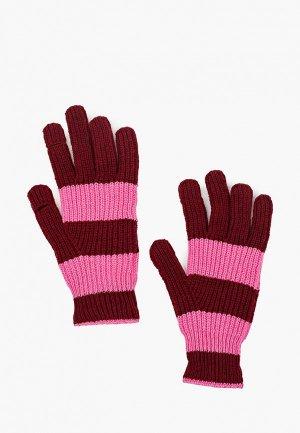 Перчатки Gap. Цвет: бордовый