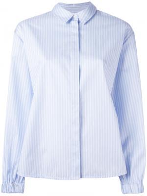 Рубашка в полоску Elizabeth And James. Цвет: синий