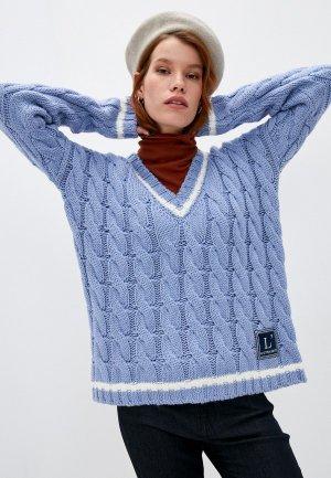 Пуловер LAutre Chose L'Autre. Цвет: голубой