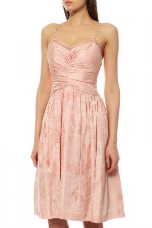Платье BADGLEY MISCHKA. Цвет: розовый
