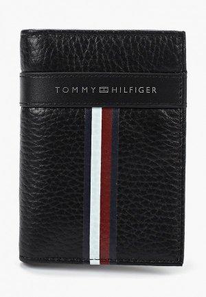 Визитница Tommy Hilfiger. Цвет: черный