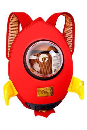 Ранец Ракета BRADEX. Цвет: красный