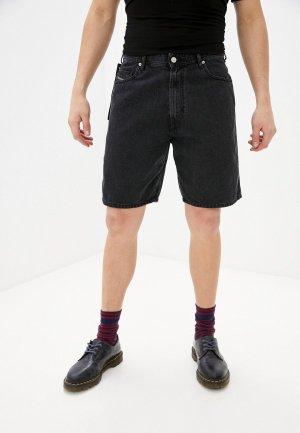 Шорты джинсовые Diesel. Цвет: черный
