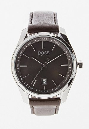 Часы Boss. Цвет: коричневый