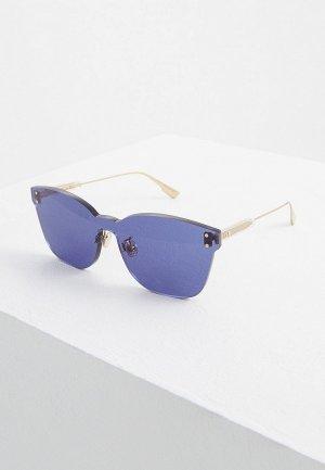 Очки солнцезащитные Christian Dior. Цвет: фиолетовый