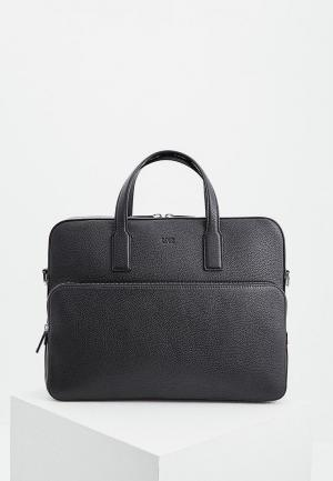 Портфель Boss Hugo. Цвет: черный