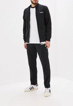 Костюм спортивный adidas. Цвет: черный
