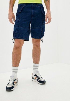 Шорты джинсовые Polo Ralph Lauren. Цвет: синий
