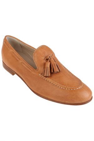 Туфли ATTILIO GIUSTI LEOMBRUNI. Цвет: оранжевый