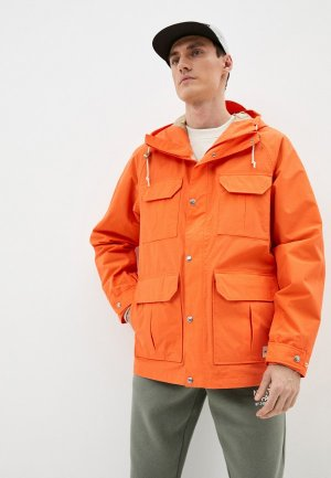 Парка The North Face. Цвет: оранжевый