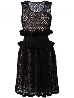 Платье Papavero Antonino Valenti. Цвет: чёрный