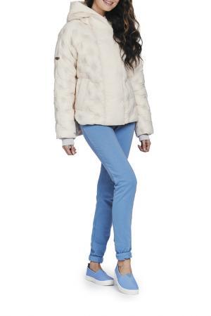 Куртка D`IMMA. Цвет: слоновая кость