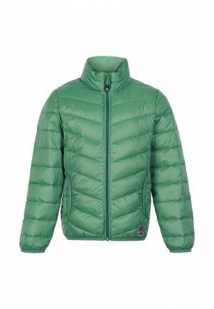 Куртка утепленная Color Kids. Цвет: зеленый